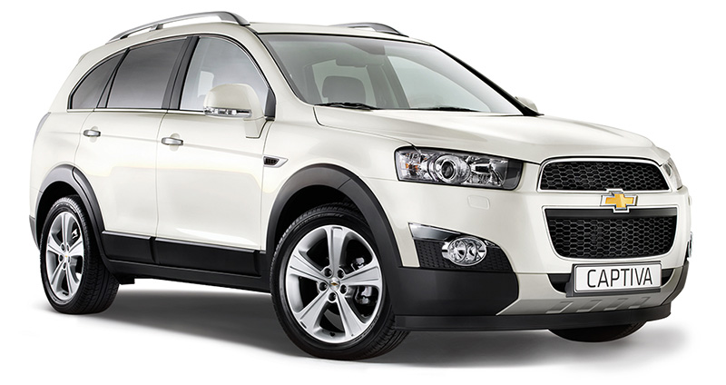 prix chevrolet captiva 2 2 l diesel ltz a partir de 125 982 dt. Black Bedroom Furniture Sets. Home Design Ideas