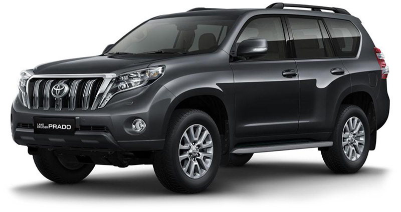 prix toyota prado a partir de 235 000 dt. Black Bedroom Furniture Sets. Home Design Ideas