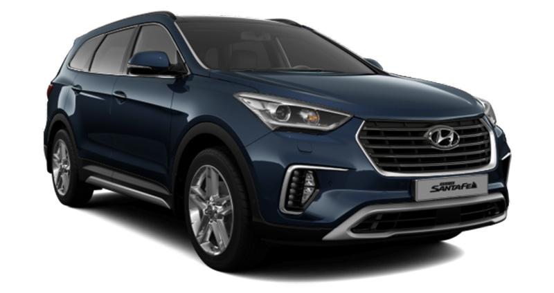 Hyundai Grand Santa Fe 2.2 L CRDI BVA