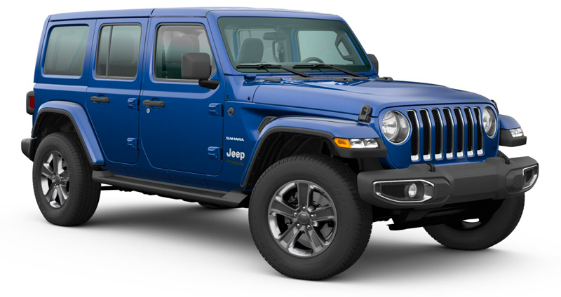 Jeep Wrangler Unlimited 3.6 L V6 Sahara