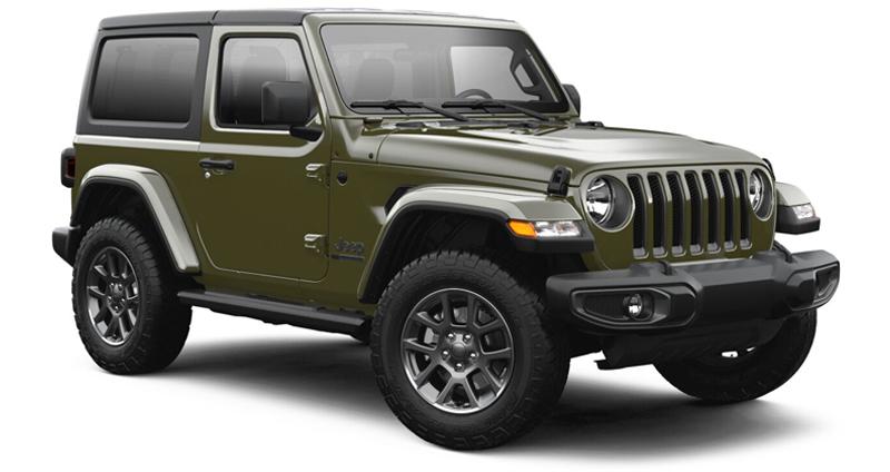 Jeep Wrangler 2.0 L Sahara