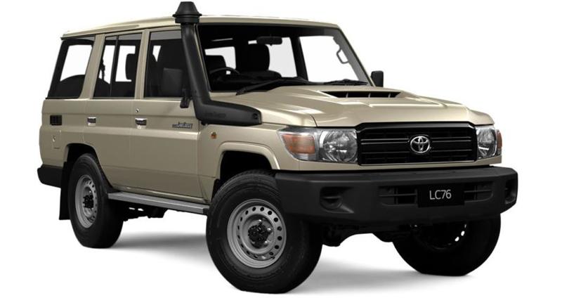 Toyota Land Cruiser 76 4.2 l
