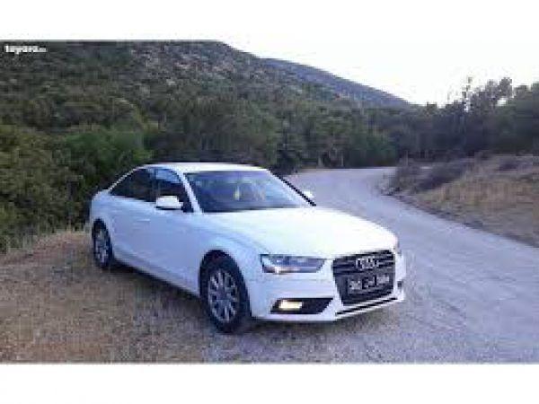 Audi A4 audi a4  blanc