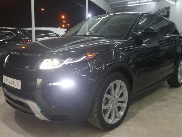 Land Rover Range Rover Evoque dynamique